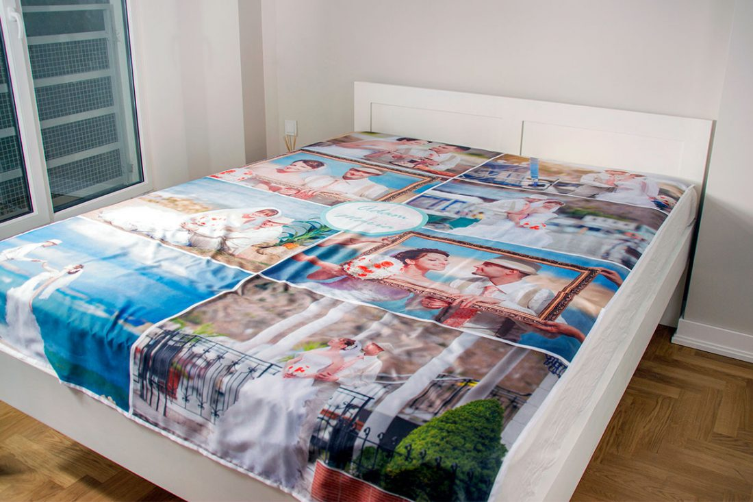 photo bed sheet