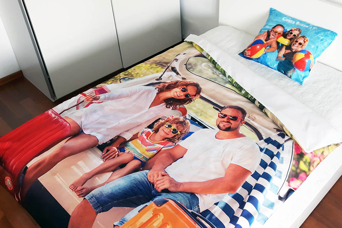 personalised duvet cover